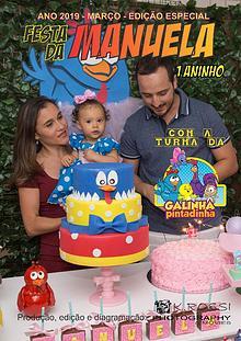 Revista do Aniversário da Manuela