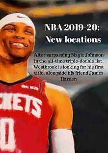 NBA 2019-2020: New locations