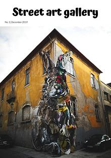 Street art gallery magazine