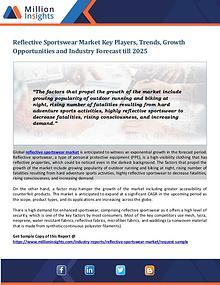 Reflective Sportswear Market