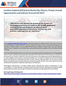 Cochlear Implant (CI) System Market