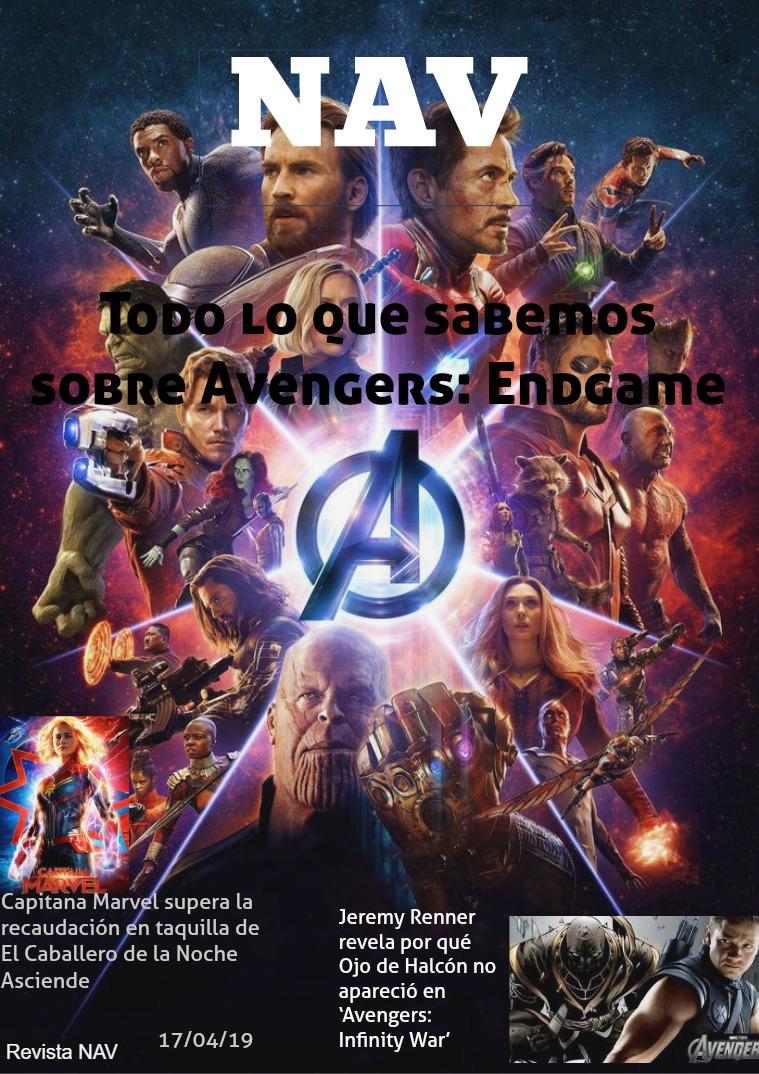 REVISTA DE PELICULAS Marvel
