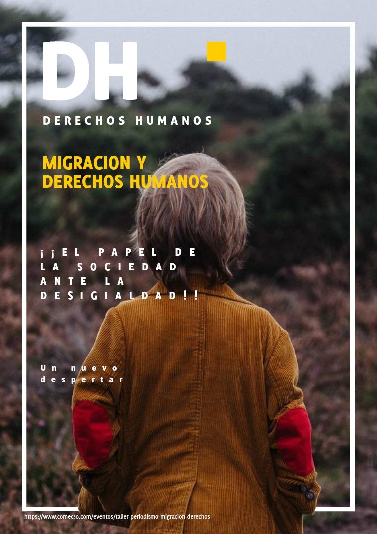 Mi primera publicacion DERECHOS HUMANOS