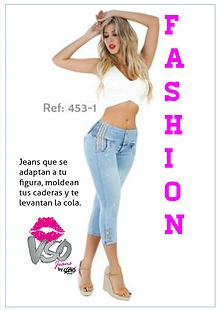 Catalogo Jeans Levanta Cola