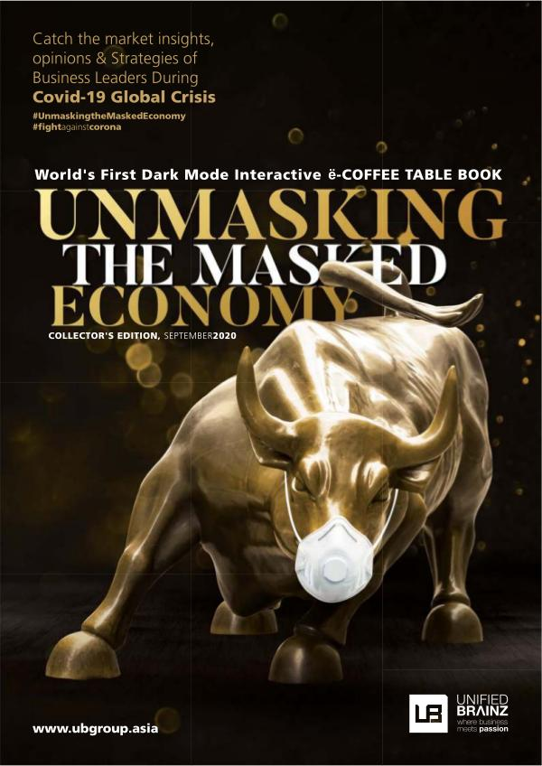 Unmasking the Masked Economy | ë-Coffee Table Book Collector's Edition