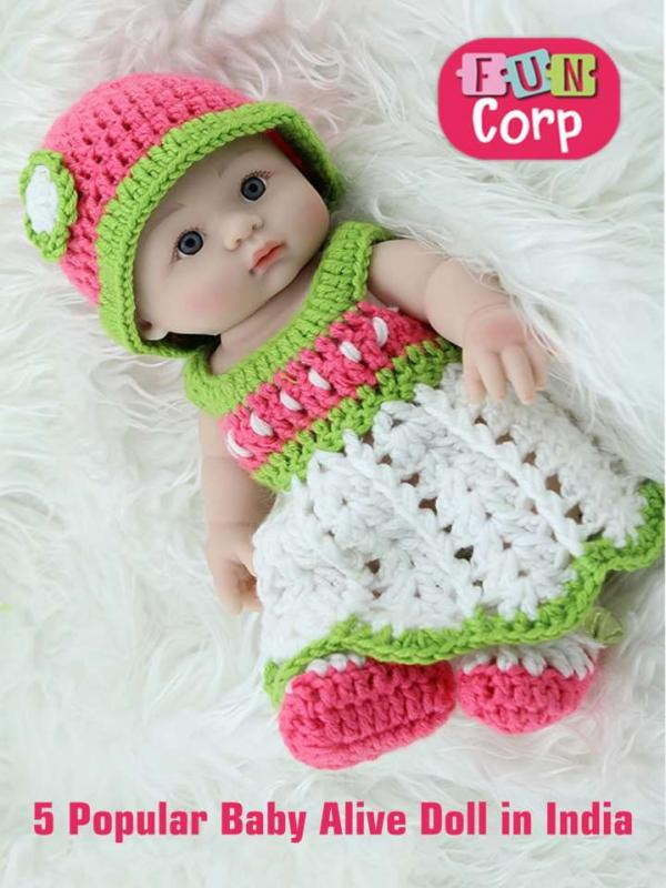 5 Popular Baby Alive Doll in India 5 Popular Baby Alive Doll in India
