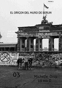 el origen del muro de berlín