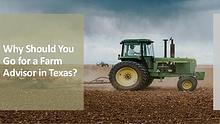 Why Should You Go for a Farm Advisor in Texas?