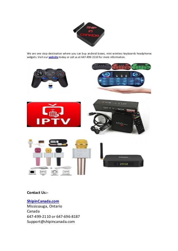 ShipinCanada.com   Buy Electronic Products Online ShipinCanada.com  Buy Electronic Products Online