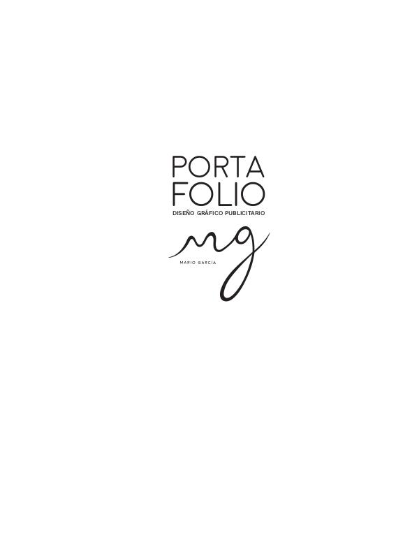PORTAFOLIOS PROFESIONALES Portafolio MG