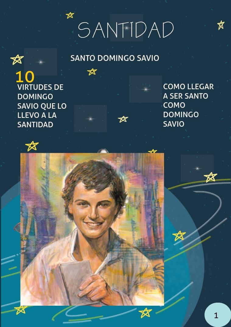 DOMINGO SAVIO SANTO DOMINGO SAVIO