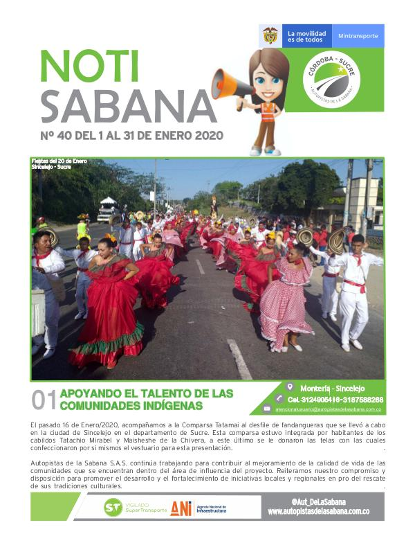 NotiSabana NOTISABANA 40