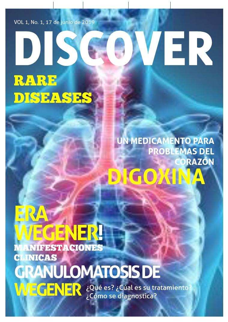 Mi primera publicacion Discover rare diaseas