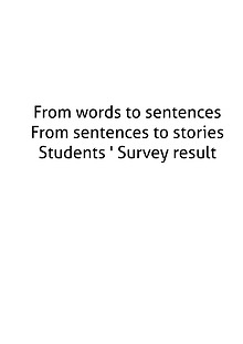 From Words To Sentences