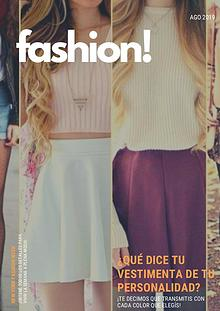 fashion! - Revista Sofía Biatturi