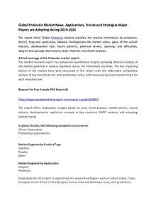 Global Proleukin Market News, Applications, Trends and Strategies Maj