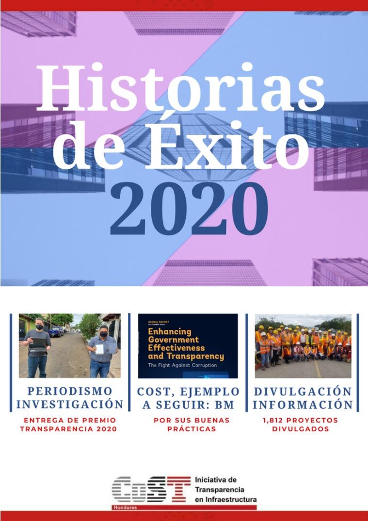 Historias de Éxito CoST Honduras 2020 Diciembre 2020