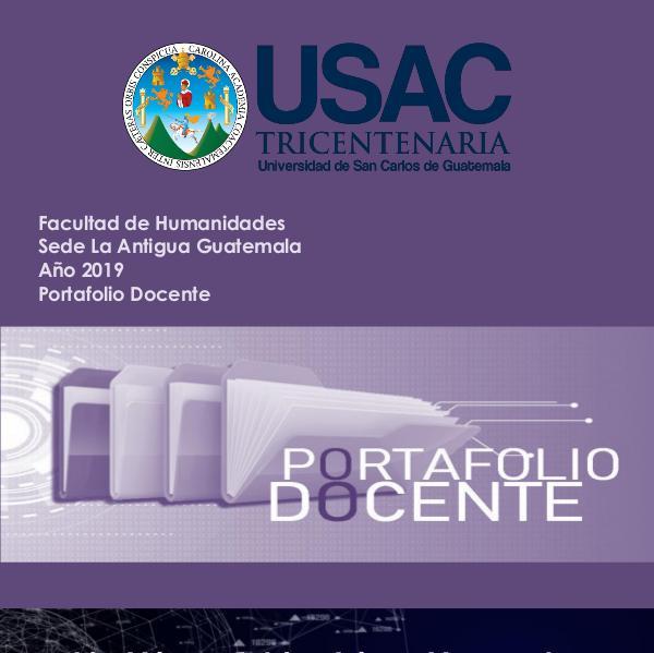 Portafolio Docente Humanidades USAC 2019-2020 Portafolio Docente