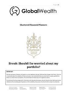Brexit and Investors Portfolios