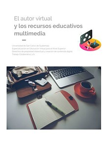 El autor virtual y los Recursos Educativos Multimedia