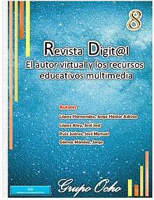 """Revista Digital """"El autor virtual y los recursos educativos¨"""