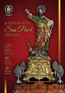 Ktieb Festa 2019, Każin Banda San Pawl Safi