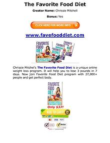 (PDF) Favorite Food Diet Chrissie Mitchell Book PDF Free Download