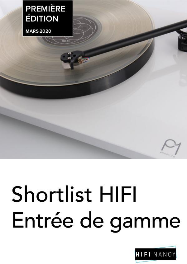 HIFI Entrée de gamme Shortlist Entrée de gamme - Nancy
