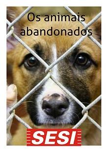 Os animais abandonados
