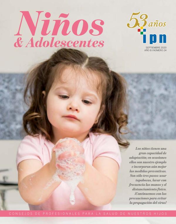 Revista Niños y Adolescentes, del IPN Edición Setiembre 2020 - Elaborado por DA