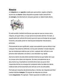 Maquinas y mecanismos