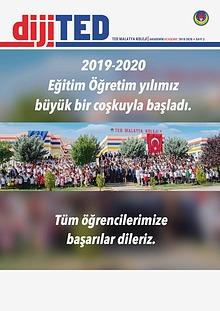 2019-2020 Eğitim Öğretim Dönemi 1 DijiTED Sayımız
