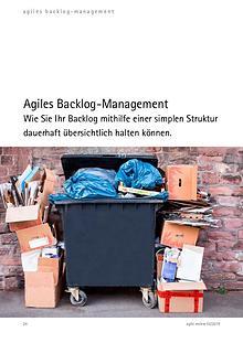Agiles Backlog-Management