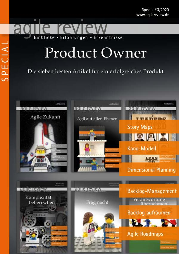Agile Specials Product Owner Dossier (2020/PO)
