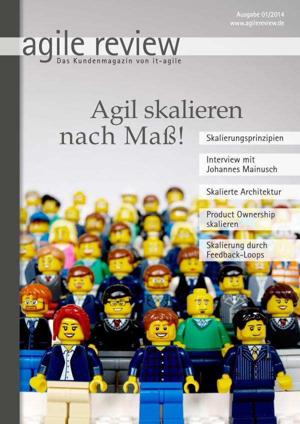 agile review Agil skalieren nach Maß (2014/1)