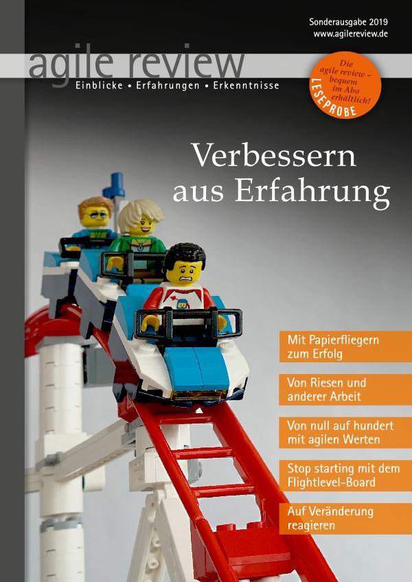 agile review Leseprobe Verbessern aus Erfahrung (2019/S)