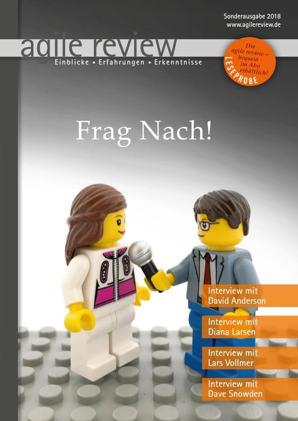 agile review Leseprobe Frag nach! (2018/S)