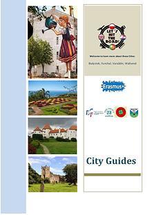 """Publication """"City Guides"""" - Erasmus Projet """"Let´s hit the road"""""""