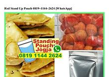 Red Stand Up Pouch 0819–1144–2624[wa]