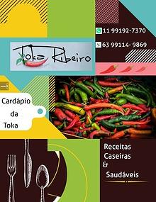 Toka Ribeiro Cardápio