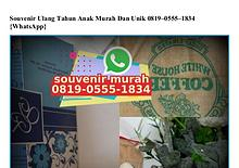 Contoh Kartu Ucapan Terimakasih Di Souvenir O818.22.5376 [WhatsApp]
