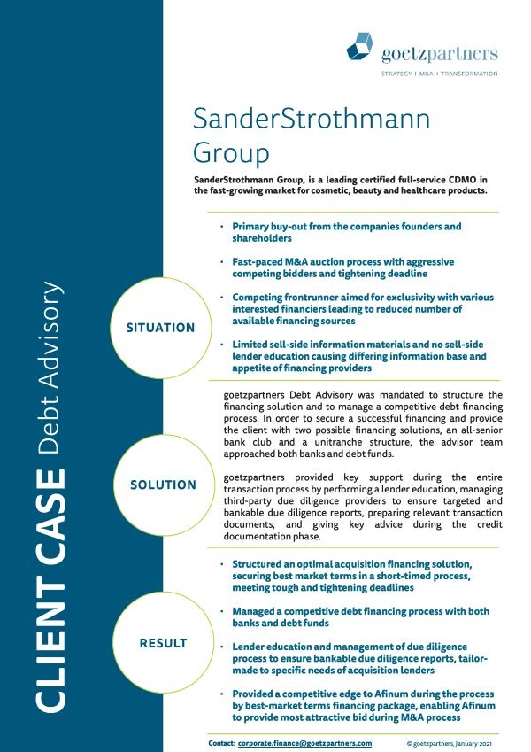 Client Case: SanderStrothmann Group