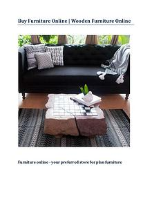 Buy Furniture Online | Wooden Furniture Online