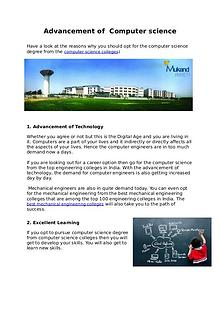 Top engineering college in haryana and computer science colleges.