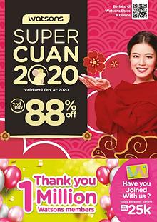 Watsons Super Cuan 2020