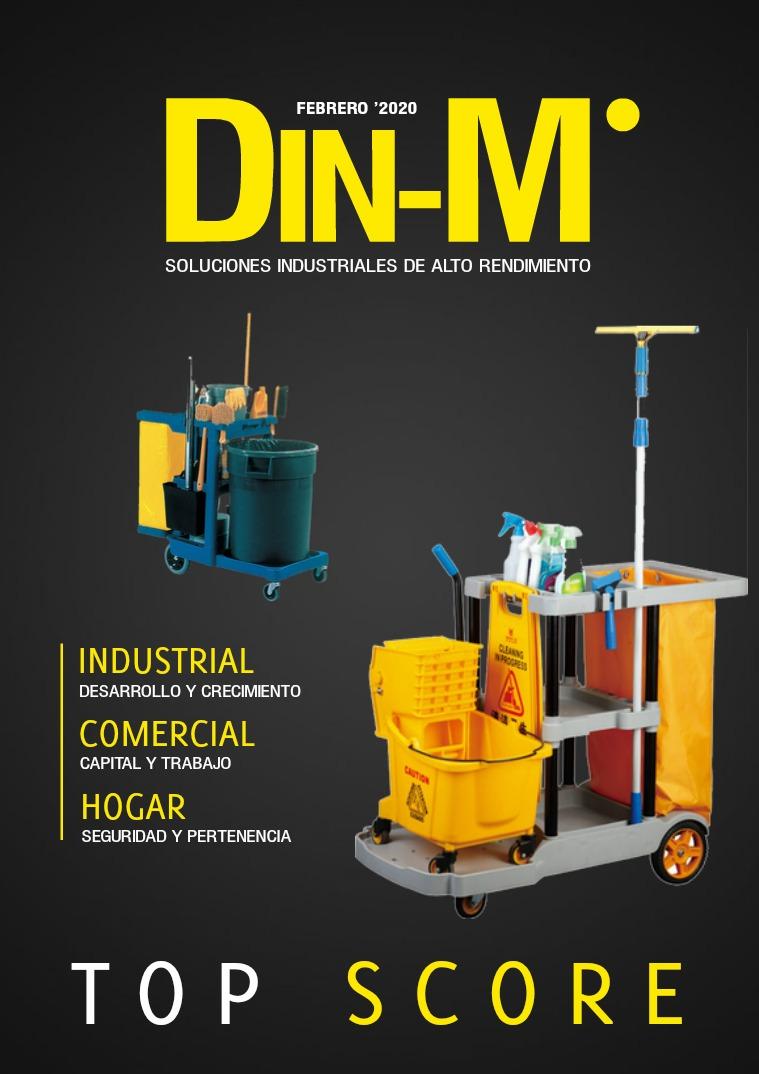 DIN-M SOLUCIONES INDUSTRIALES DE ALTO RENDIMIENTO SA DE CV 1 VOLUMEN FEBRERO 2020
