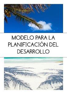 Modelo de planificación para el desarrollo