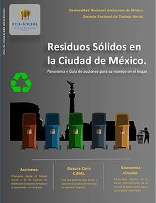 Residuos Sólidos en la Ciudad de México.