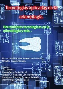 Tecnologías Aplicadas en la Odontología