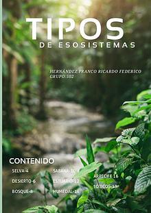 ecosistemas tipos 8